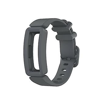 Replacement Silicone Band Strap Bracelet for Fitbit Ace 2/Inspire/Inspire HR[Grey]