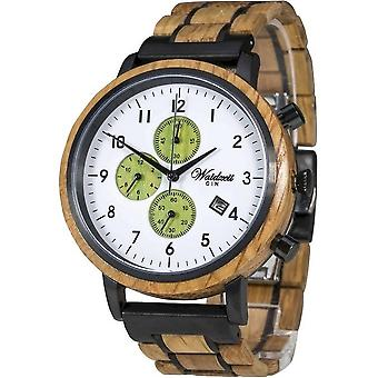 Montre pour hommes Waid Time Chronograph Gin LoverCucumber - GC01W