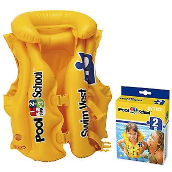 Intex, inflatable simvest, 18-30 kg
