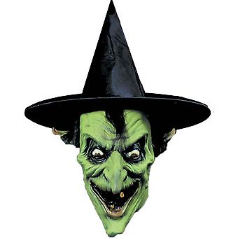 Green Witch Mask For Halloween