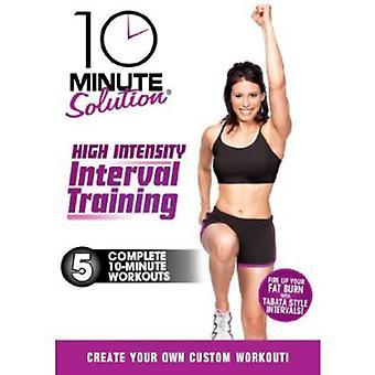 High Intensity Interval Training [DVD] USA import