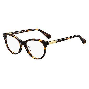 Kate Spade Caelin 086 Óculos Escuros de Havana
