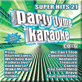 Various Artists - Party Tyme Karaoke: Super Hits 21 [CD] USA import