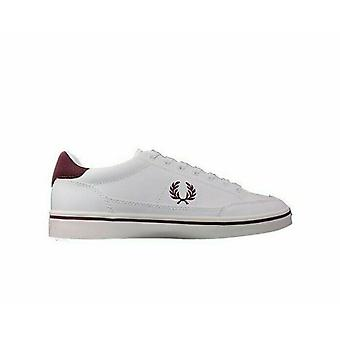 Fred Perry Men's Deuce Leather Tricot Trainers B5147-100