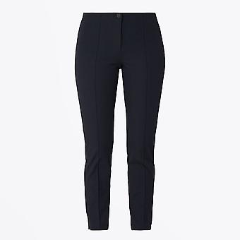 Cambio - Ros - Slim Fit Stretch Trousers - Midnight Navy