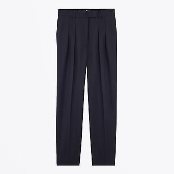 A.P.C.  - Cheryl - Wool Trousers - Dark Navy