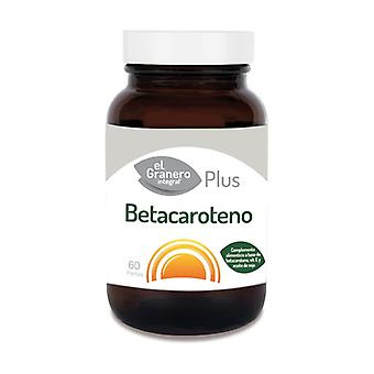 Beta carotene 60 softgels (330mg)