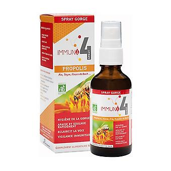 Immuno-4 ORGANIC throat spray 50 ml