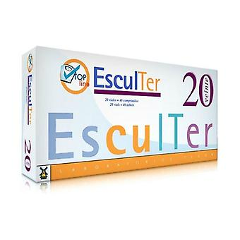 Sculpter Nº3 20 ampoules of 10 ml + 40 pills