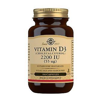 Natural Vita D3 100 capsule di 55mg