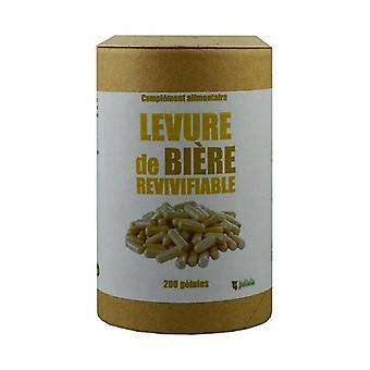 Herleefbaar biergist 200 plantaardige capsules van 320mg