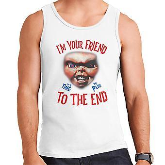 Chucky im uw vriend tot het einde mannen ' s vest