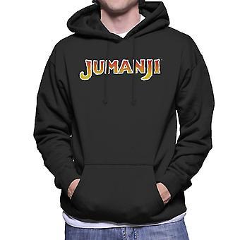 Jumanji 1995 Film Logo Men's Hooded Sweatshirt