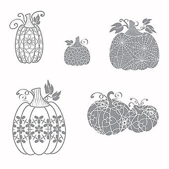 Fun Stampers Journey Martha's Pumpkins Rubber Stamps