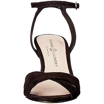 Chinese Laundry Womens Rosita Suede Open Toe Casual Ankle Strap Sandals