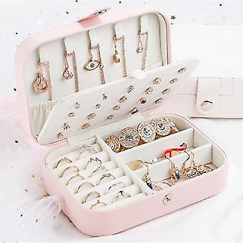 Protable, Multi Function Jewelry Storage Box