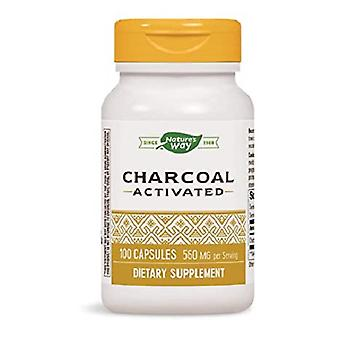 Nature's Way Activated Charcoal Vegan Capsules