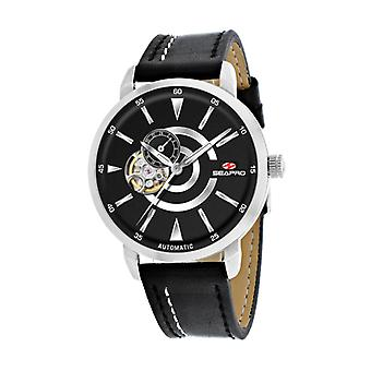 Sp0140, Seapro Men'S Elliptique - Noir - Montre Automatique