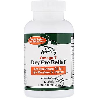 Terry Naturally, Omega 7, Dry Eye Relief, 60 Softgels