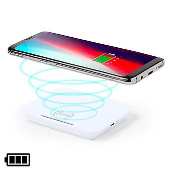 Wireless Charger with Mobile Holder White