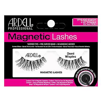 Ardell Tapered Tip False Magnetic Lashes - Demi Wispies Black - Single Lash
