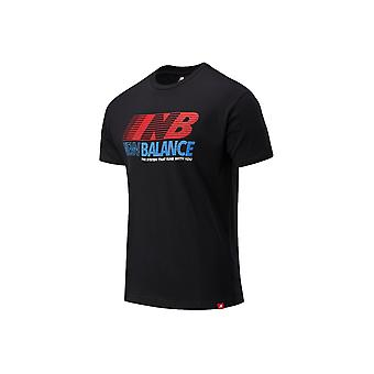 New Balance MT03513BK universal all year men t-shirt