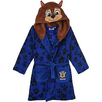Jongens TH2149 Paw Patrol Hooded Coral Fleece Dressing Gown