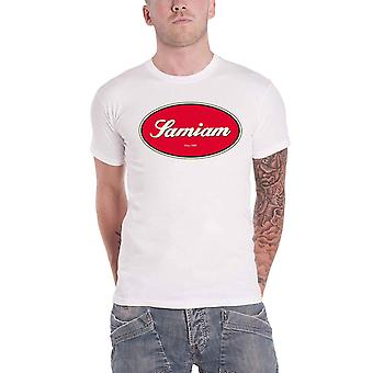 Samiam T Shirt Oval Logo new Official Mens White