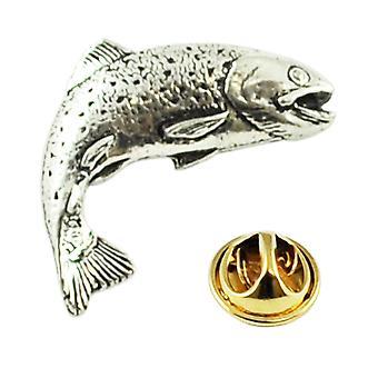 Krawatten Planet springen Lachs Fisch Zinn Anstecknadel Abzeichen