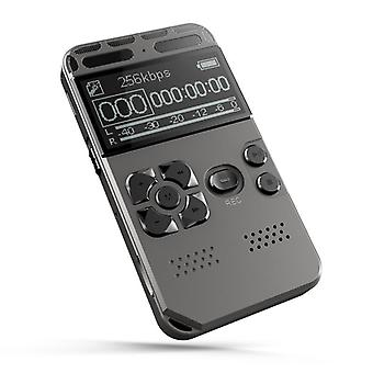 Professional Hd Digital Voice Recorder One-button Record Noise Reducation Dictaphone Usb Rechargeable