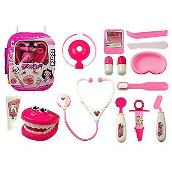 Spielzeug Arzt Set - Zahnarzt Set pink