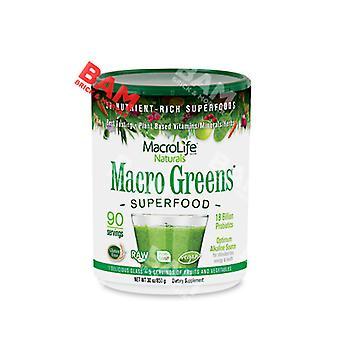 Macrolife Naturals Macro Greens, (Kilo) 30 oz