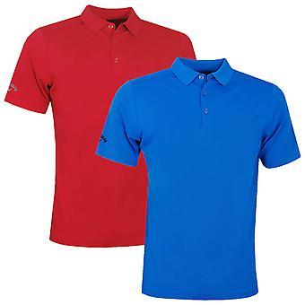 Callaway Golf Mens Torneo Opti-Dri Umidità Wicking Polo Camicia