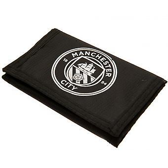 Manchester City FC Touch fastgørelse Nylon tegnebog