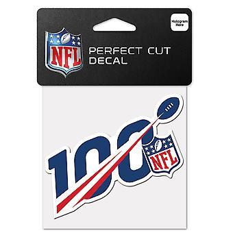 Vinheta wincraft 10x10cm-100 º aniversário da NFL