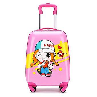 Trolley per valigie per cartoni animati animali su ruote