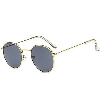 Pyöreä lasit kehys nainen miehet retro myopia optinen kirkas linssi silmälasit