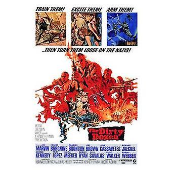 El cartel de docena película sucia (11 x 17)