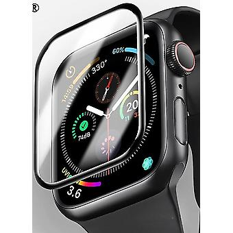Protetor de tela para Apple Watch 3d Curved Edge Hd Tempered Glass Série 3 2 1