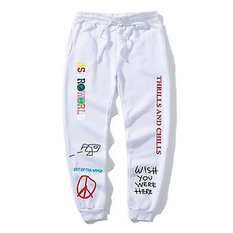 Travis Scott Astroworld Scrisoare tipărite Femei / bărbați Jogging Hip Hop Streetwear