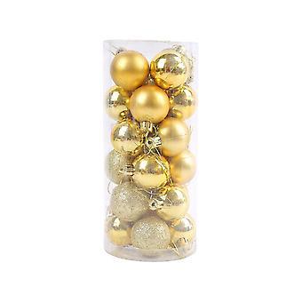 24stk juletræ ball ornamenter hængende sæt til Ferie Bryllupsfest