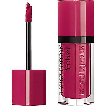 Bourjois Rouge Edition Velvet Liquid Lipstick 13 Fu(N)Chsia Pinks 7.7ml