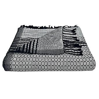Silver Cambodia Tapestry Throw