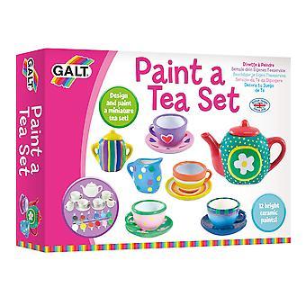Galt toys paint a tea set 1 multi
