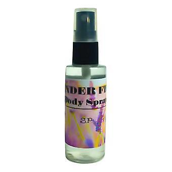 Spray calmante de campos de lavanda