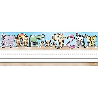 Placas de nombre de amigos de Safari, 36/Pack