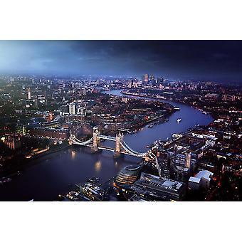 Fondo de pantalla Mural London Aerial View con