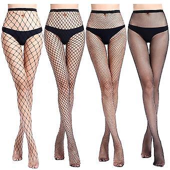 Women & apos;s طويل مثير فيشنيت جوارب Pantyhose شبكة جوارب الملابس الداخلية الجلد
