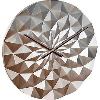 TFA Dostmann 60.3063.51 Quartz Wall clock 396 mm x 44 mm Rose Gold, Metallic
