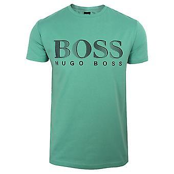 Hugo boss men's pastel green uv-protection t-shirt